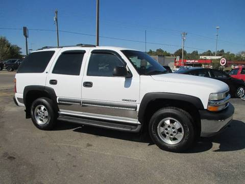 2002 Chevrolet Tahoe for sale at Henderson Auto Sales in Poplar Bluff MO