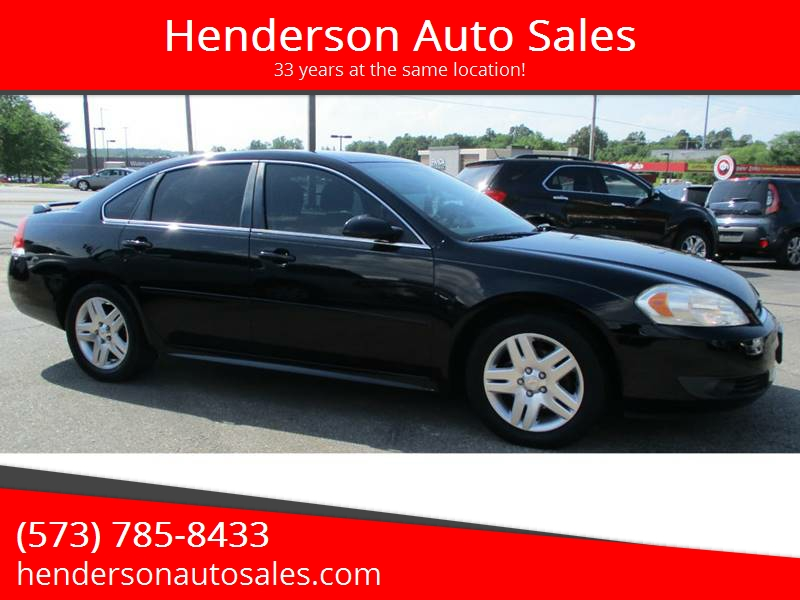 2010 chevrolet impala lt in poplar bluff mo henderson auto sales. Black Bedroom Furniture Sets. Home Design Ideas
