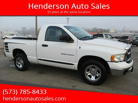 2005 Dodge Ram Pickup 1500 for sale in Poplar Bluff, MO