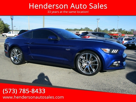 2015 Ford Mustang for sale in Poplar Bluff, MO