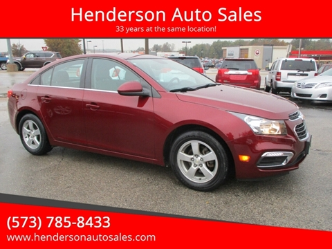 2016 Chevrolet Cruze Limited for sale in Poplar Bluff, MO
