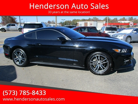2017 Ford Mustang for sale in Poplar Bluff, MO
