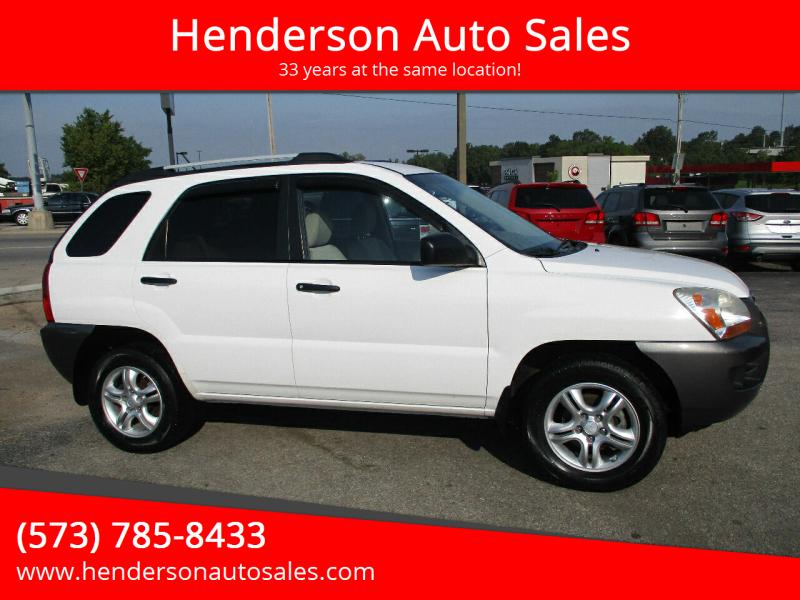 2008 Kia Sportage for sale at Henderson Auto Sales in Poplar Bluff MO