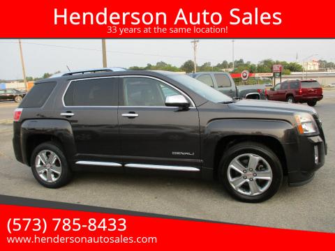 2014 GMC Terrain for sale at Henderson Auto Sales in Poplar Bluff MO