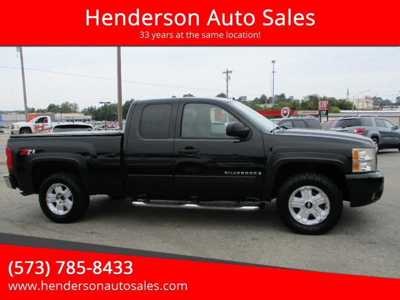 2007 Chevrolet Silverado 1500 for sale at Henderson Auto Sales in Poplar Bluff MO