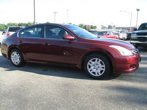2012 Nissan Altima for sale at Henderson Auto Sales in Poplar Bluff MO