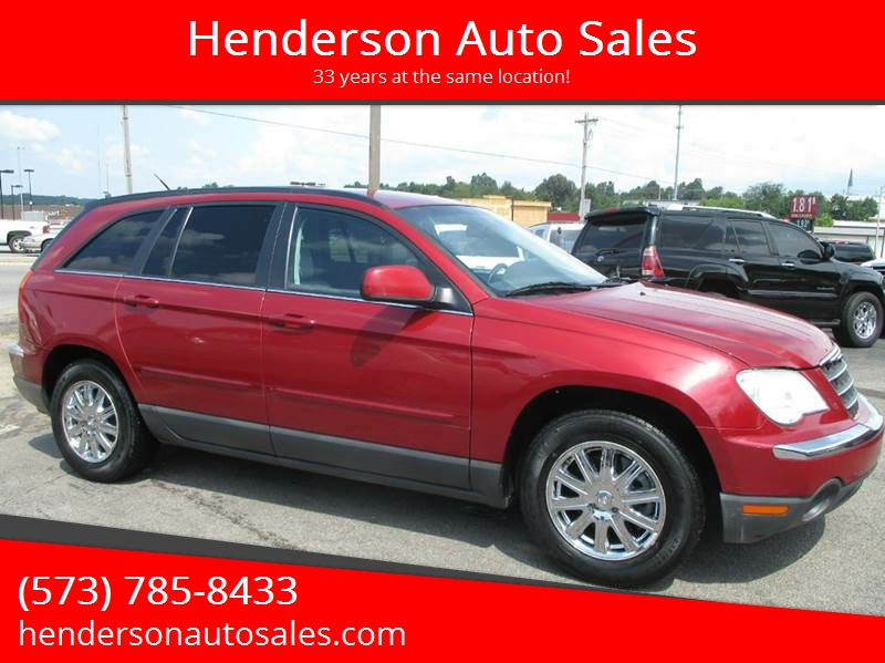 2007 chrysler pacifica touring in poplar bluff mo henderson auto sales. Black Bedroom Furniture Sets. Home Design Ideas