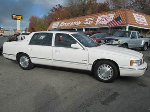 1998 Cadillac DeVille for sale at Henderson Auto Sales in Poplar Bluff MO