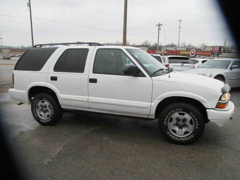 2002 Chevrolet Blazer for sale at Henderson Auto Sales in Poplar Bluff MO