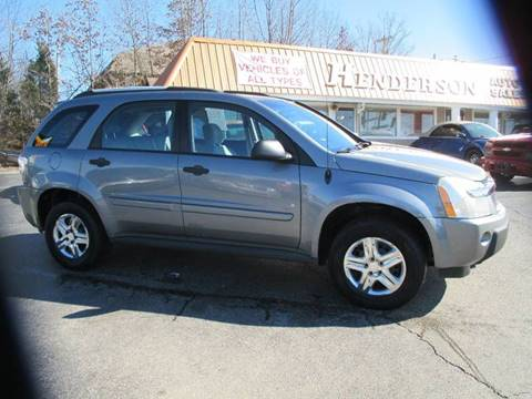 2006 Chevrolet Equinox for sale at Henderson Auto Sales in Poplar Bluff MO