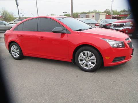 2014 Chevrolet Cruze for sale at Henderson Auto Sales in Poplar Bluff MO