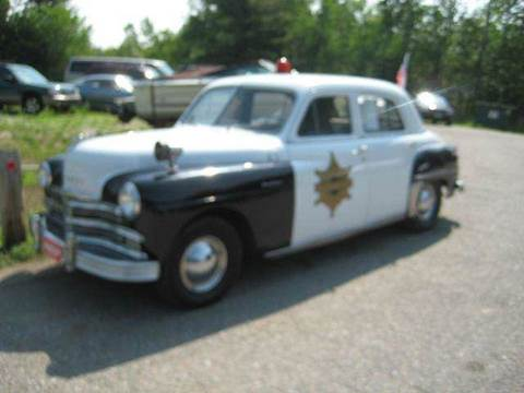 1949 Plymouth Deluxe for sale at Hartley Auto Sales & Service in Milton VT