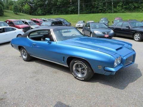 1972 Pontiac GTO for sale at Hartley Auto Sales & Service in Milton VT