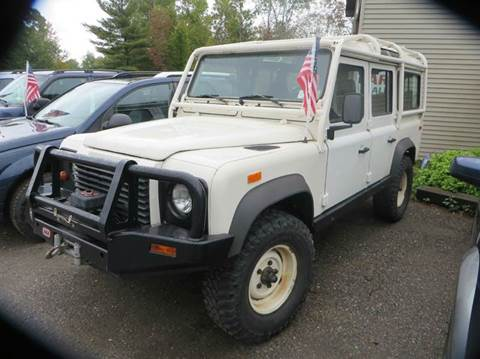 1993 Land Rover Defender for sale at Hartley Auto Sales & Service in Milton VT