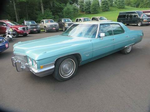 1971 Cadillac DeVille for sale at Hartley Auto Sales & Service in Milton VT