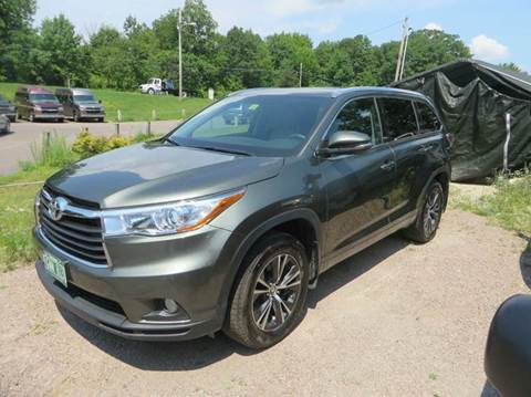 2016 Toyota Highlander for sale at Hartley Auto Sales & Service in Milton VT