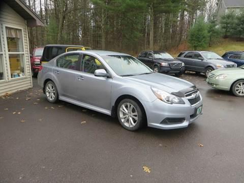 2014 Subaru Legacy for sale at Hartley Auto Sales & Service in Milton VT