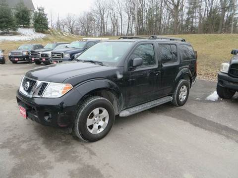 2012 Nissan Pathfinder for sale at Hartley Auto Sales & Service in Milton VT