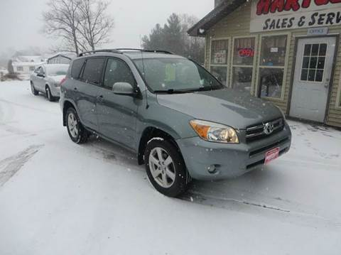 2006 Toyota RAV4 for sale at Hartley Auto Sales & Service in Milton VT