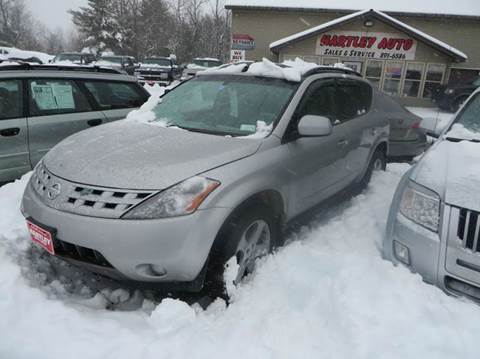 2004 Nissan Murano for sale at Hartley Auto Sales & Service in Milton VT