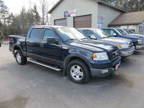 2005 Ford F-150 for sale at Hartley Auto Sales & Service in Milton VT