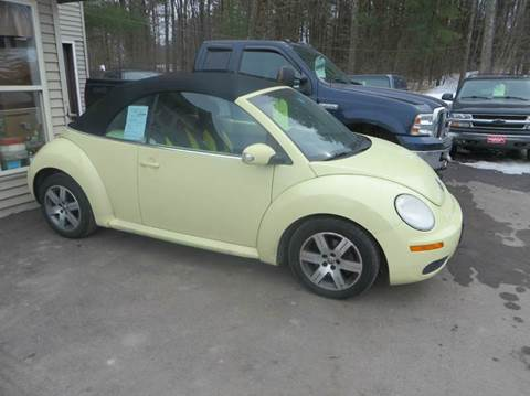 2006 Volkswagen New Beetle for sale at Hartley Auto Sales & Service in Milton VT