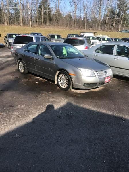 2008 Mercury Milan for sale at Hartley Auto Sales & Service in Milton VT