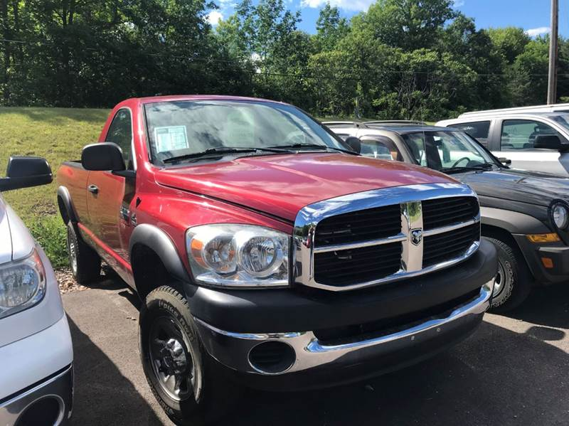 2008 Dodge Ram Pickup 2500 for sale at Hartley Auto Sales & Service in Milton VT