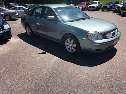 2007 Ford Five Hundred for sale at Hartley Auto Sales & Service in Milton VT