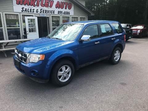 2011 Ford Escape for sale at Hartley Auto Sales & Service in Milton VT