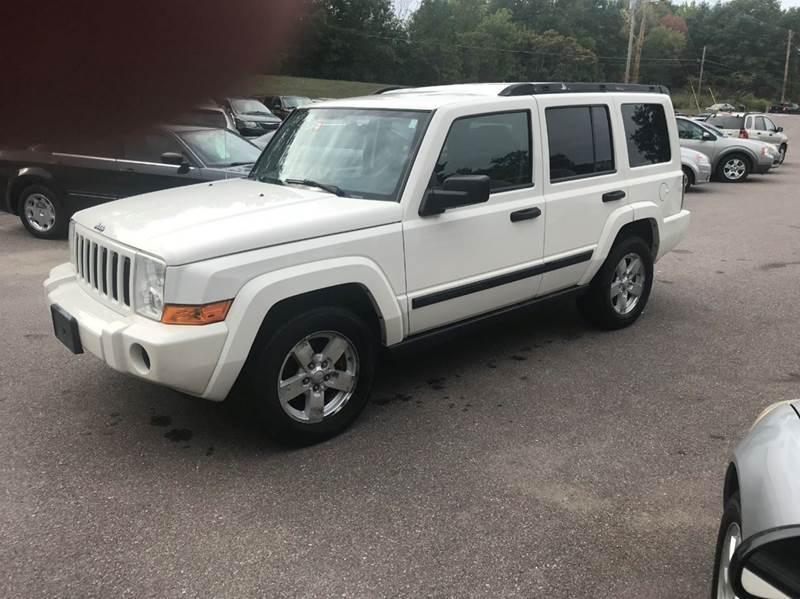 2006 Jeep Commander for sale at Hartley Auto Sales & Service in Milton VT