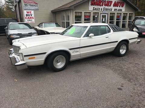 1976 Ford Torino for sale at Hartley Auto Sales & Service in Milton VT