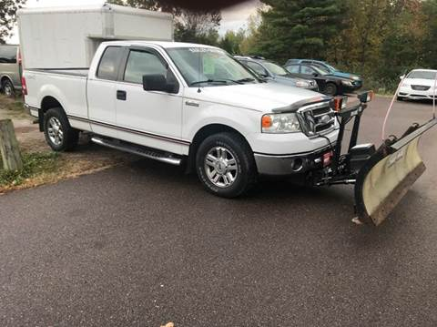 2008 Ford F-150 for sale at Hartley Auto Sales & Service in Milton VT