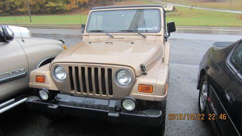1999 Jeep Wrangler for sale in Morgantown, WV