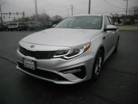 2019 Kia Optima for sale at Windsor Auto Sales in Loves Park IL