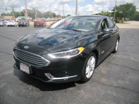 2018 Ford Fusion Hybrid for sale at Windsor Auto Sales in Loves Park IL