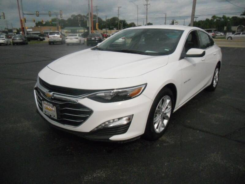 2019 Chevrolet Malibu for sale at Windsor Auto Sales in Loves Park IL