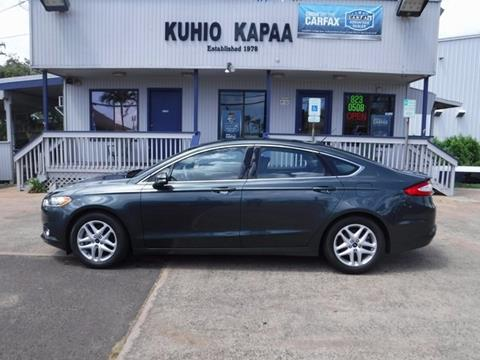 2015 Ford Fusion for sale in Kapaa, HI
