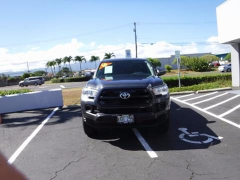 2016 Toyota Tacoma for sale in Kapaa HI