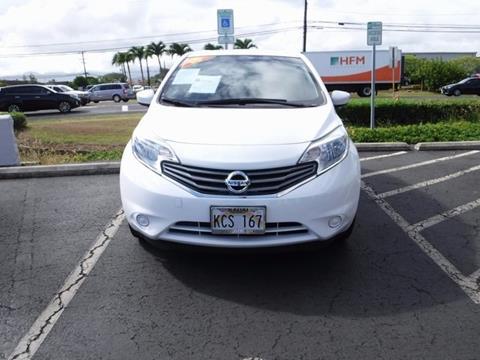 2016 Nissan Versa Note for sale in Kapaa HI