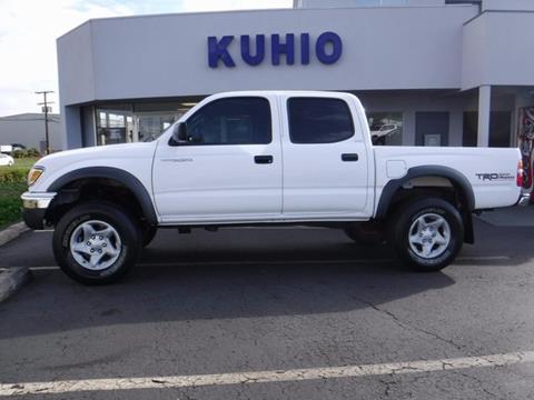 2003 Toyota Tacoma for sale in Kapaa, HI