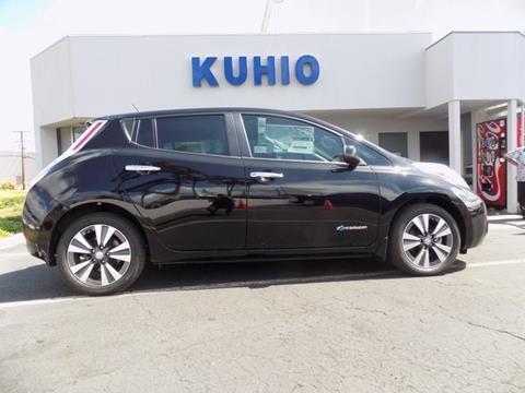 2015 Nissan LEAF for sale in Kapaa HI
