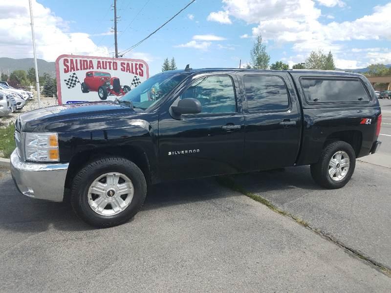 2012 Chevrolet Silverado 1500 4x4 LT 4dr Crew Cab 5.8 ft. SB - Salida CO