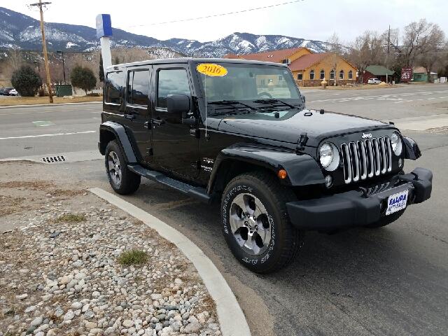 2016 Jeep Wrangler Unlimited 4x4 Sahara 4dr SUV - Salida CO