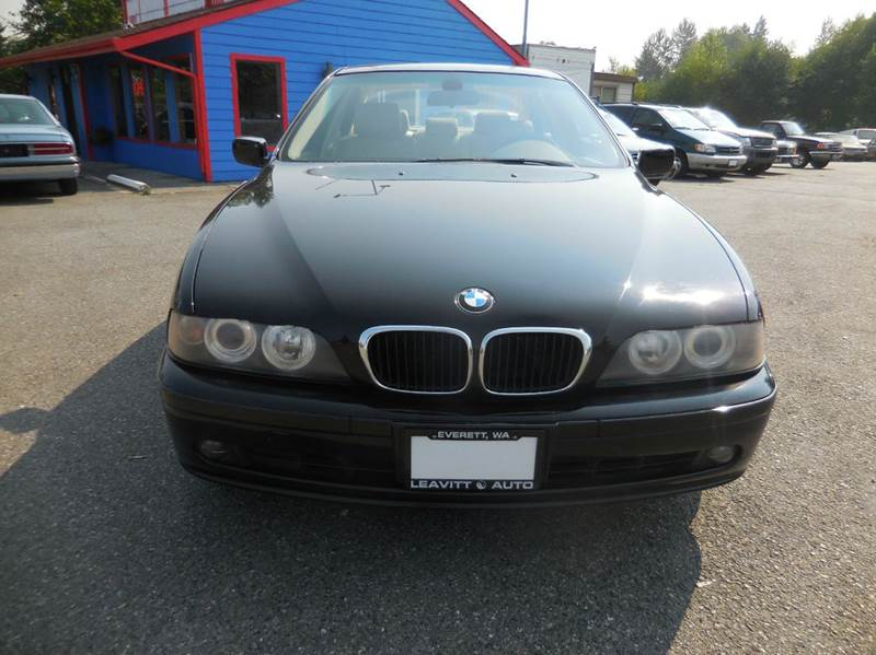 2003 Bmw 5 Series 525i 4dr Sedan In Everett WA  Leavitt Auto