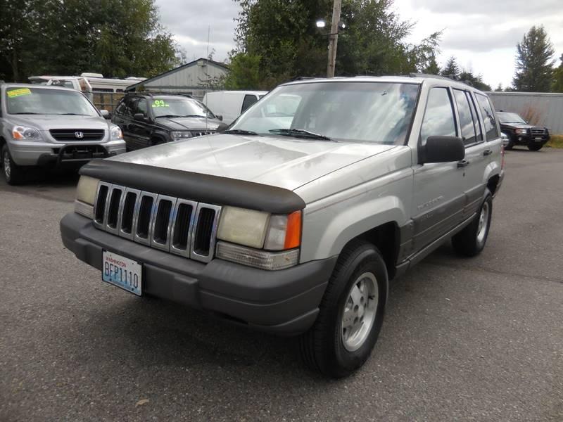 1996 Jeep Grand Cherokee 4dr Laredo 4WD SUV   Everett WA