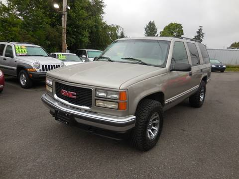 1999 GMC Yukon for sale in Everett, WA