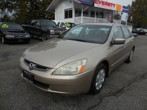 2003 Honda Accord for sale in Everett, WA
