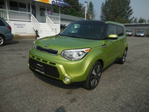 2014 Kia Soul for sale at Leavitt Auto Sales and Used Car City in Everett WA