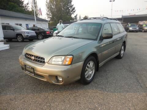 2003 Subaru Outback for sale at Leavitt Auto Sales and Used Car City in Everett WA